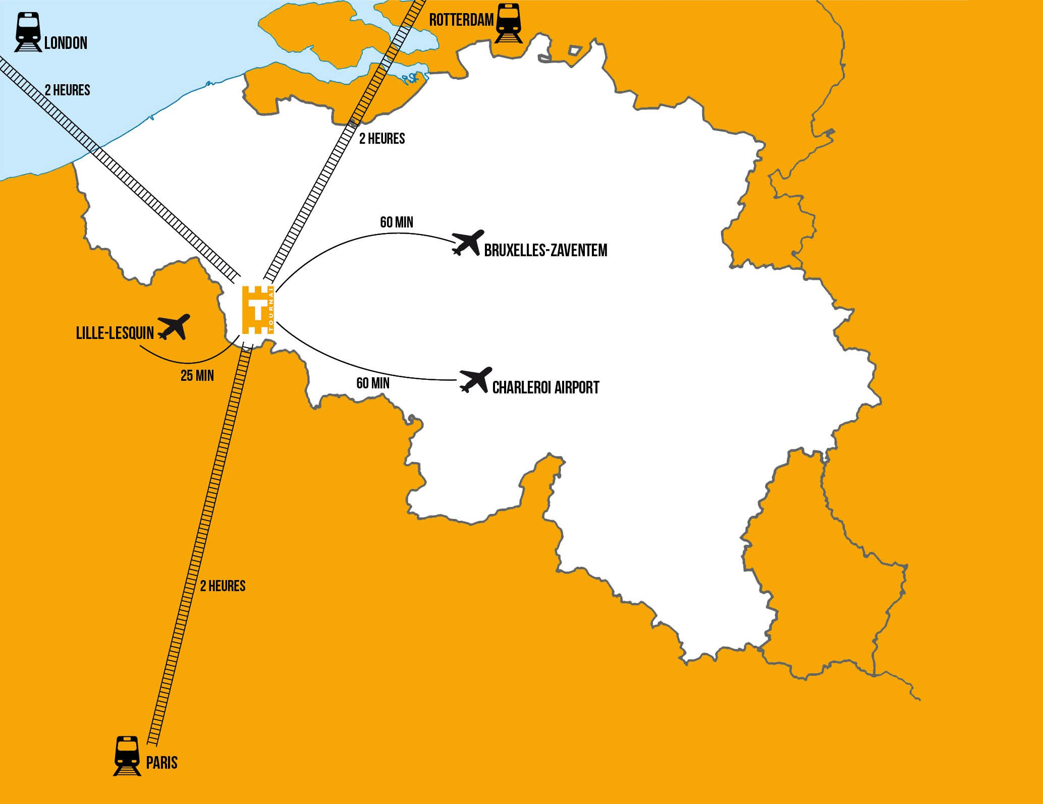 Carte Kain Belgique.How To Get To Tournai Visit Tournai Website